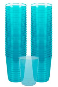 Plastmuggar Blå 10-pack