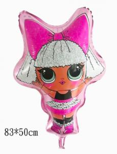 LOL Flicka heliumballong