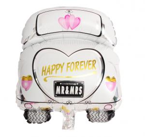 bröllopsbil heliumballong