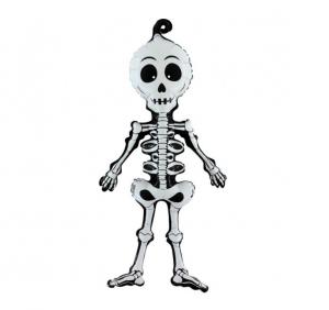 skelett folieballong
