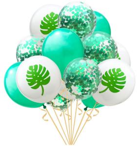 Ballongbukett Palmblad 14st