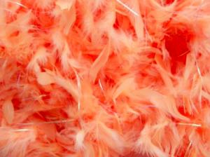 Boaorm persika med glitter