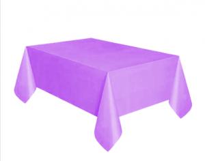 Bordsduk Plast Ljuslila