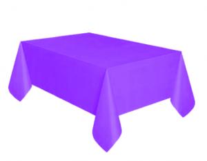 Bordsduk Plast Lila