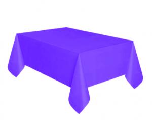 Bordsduk Plast Blålila