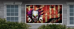 clown halloween skräck Banner
