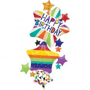 Happy Birthday multi-ballong