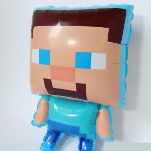Minecraft Steve heliumballong