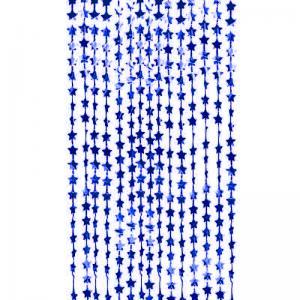 Draperi stjärnor blå