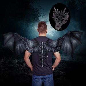 Drak set svart drake
