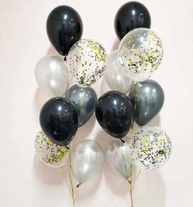 lyxkonfetti 7st latexballonger