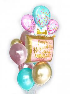 Stay fabulous Happy birthday heliumbukett 2