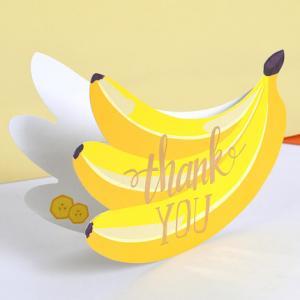 Hälsningskort Bananer