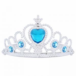 Blå tiara