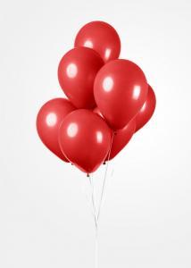 Latexballonger Röd