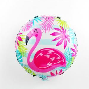 Flamingo med helium