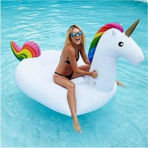 "uppblåsbar bad unicorn ""enhörning"""