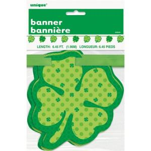 st. Patrick klöverblad grön