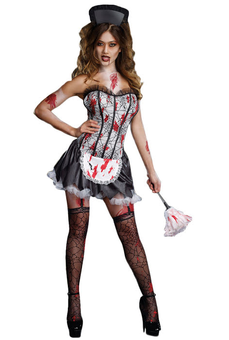 Blodig french maid