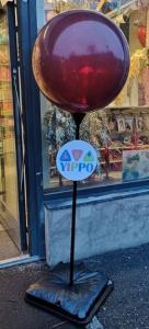 Ballongpelare med jätteballong