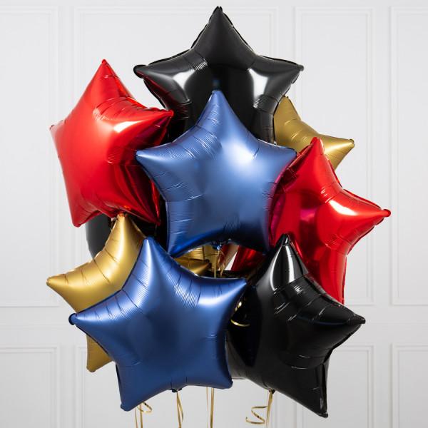 helium ballongbukett stjärnor Hero
