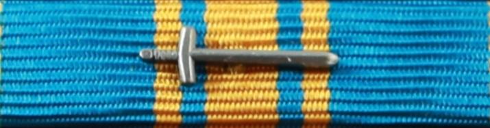 Försvarsmaktens förtjänstmedalj i silver med svärd 2010-