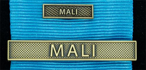 Bandspänne - MALI - till stor medalj+miniatyrmedalj