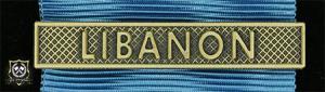Bandspänne - LIBANON - till stor medalj