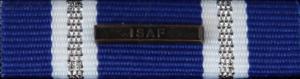 """NATO ISAF MED """"ISAF"""" clasp"""