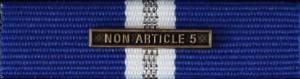 NATO Non-Article 5 med clasp