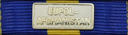 EUFOR EUPOL AFGHANISTAN Guld