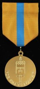 Reservofficersmedaljen i guld