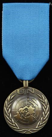UNHQ medalj