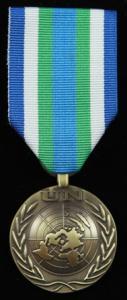 UNOMSIL/UNAMSIL medalj