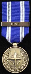 NATO ISAF medalj