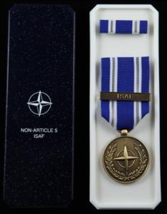 NATO ISAF medaljset