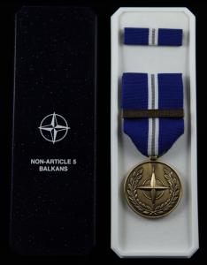 NATO Non-Article 5 medaljset