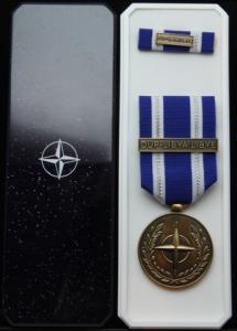 NATO OUP Libya medaljset