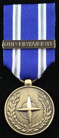 NATO OUP Libya medalj