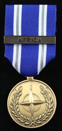 NATO Africa medalj