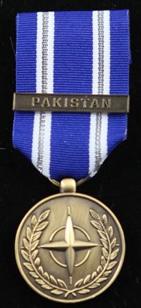 NATO Pakistan medalj