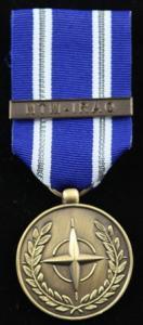 NATO NTM IRAQ medalj