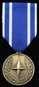 NATO FYROM medalj