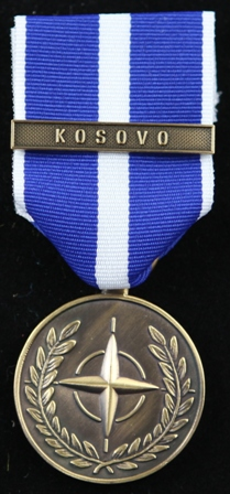 NATO KFOR medalj