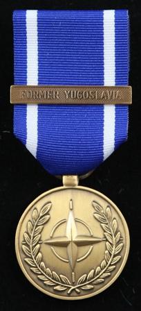 NATO Former yugoslavia medalj