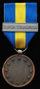 EUFOR TCHAD/RCA medalj