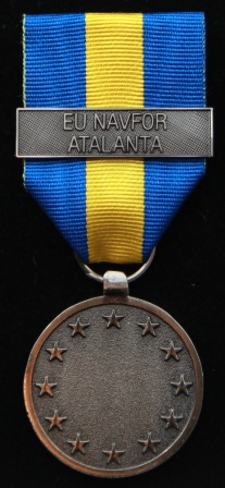EUFOR NAVFOR ATALANTA medalj