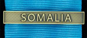Bandspänne - SOMALIA - till stor medalj