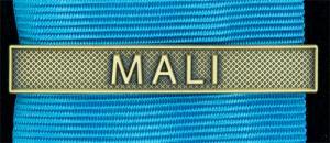 Bandspänne - MALI - till stor medalj