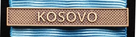Bandspänne - KOSOVO - till stor medalj